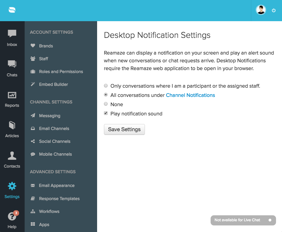 New Reamaze Notifications System – Re:amaze Feature Update Blog